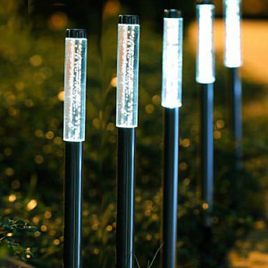 Solar llev luces de jard n con 5 luces a prueba de agua for Luces led jardin