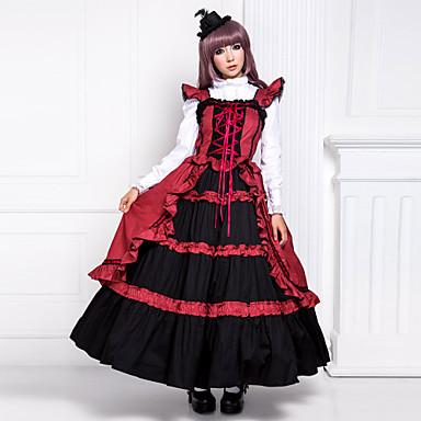 Red Victorian Dress Halloween Costumes