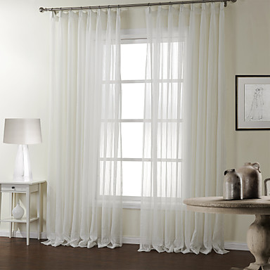 two panels curtain modern , stripe bedroom polyester material
