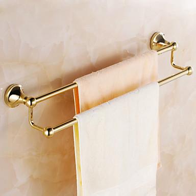 Laiton dor salle de bains porte serviettes usd for Accessoire salle de bain dore