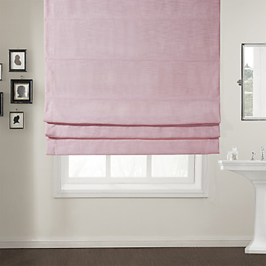 Twopages 174 Modern Pink Solid Roman Shade 835052 2016 58 49
