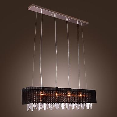 Lampe Suspendue Contemporain Plafonnier Pour Il T De Cuisine Autres Fonctionnalit For Cristal