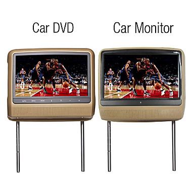 9 pouces tft lcd dvd appuie t te avec cran tactile 1 dvd 1 moniteur usd. Black Bedroom Furniture Sets. Home Design Ideas