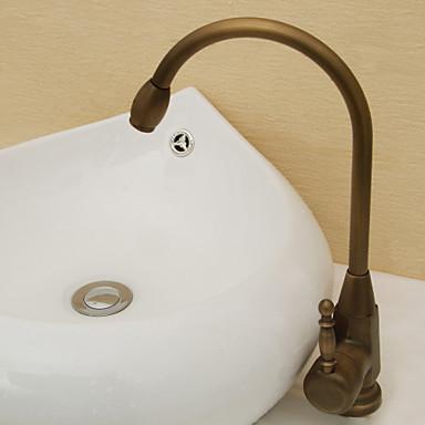 Vintage style rivestimento d 39 ottone antico singola - Rubinetteria retro bagno ...