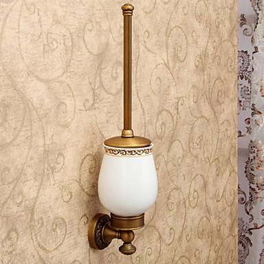 Antieke Prachtige badkamer accessoires Meegeleverde Toiletborstel En ...