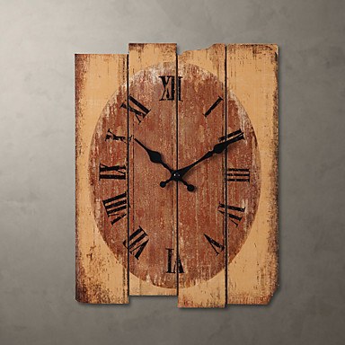 H15 country style khaki wall clock 789691 2016 - Country style wall clocks ...