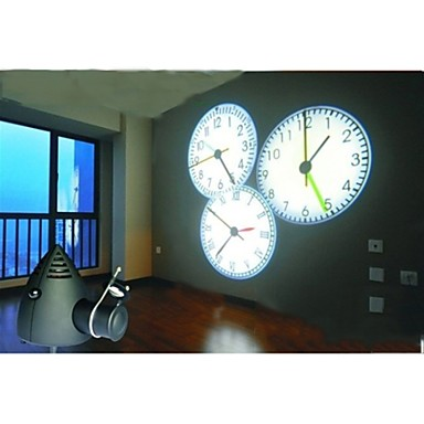 6 5 Quot H Color Changing Led Light Projector Wall Clock 851416