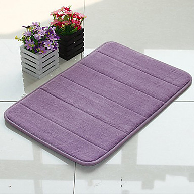 Amazing 24 X17 Rug Bathroom Carpet Soft Microfiber Suede Memory Foam Bath Mat