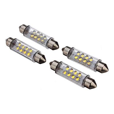 Ampoule Led 12 Volts Voiture : ampoule pour voiture 12v 2pcs 42mm 8 led 30 80lm blanche ~ Edinachiropracticcenter.com Idées de Décoration