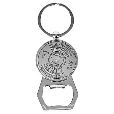 personalized bottle opener keychain perpetual calendar 974709 2016. Black Bedroom Furniture Sets. Home Design Ideas