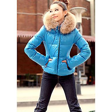 Если вас интересуют другие товары, которые похожи на Короткая зимняя яркая голубая куртка с мехом