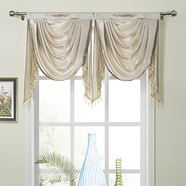 Valance Waterfall Solid 100 Polyester 986767 2016