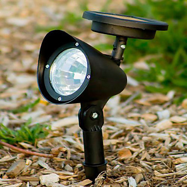 led outdoor solar powered landscape spot light led yard garden path. Black Bedroom Furniture Sets. Home Design Ideas