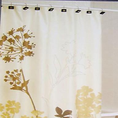 Rideau de douche style moderne pissenlit imprimer w72 x for Rideau de douche moderne