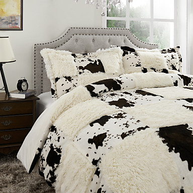 a carreaux polyester ensembles housse de couette de. Black Bedroom Furniture Sets. Home Design Ideas