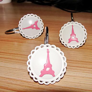 Make Your Own Shower Curtain Paris Shower Hooks