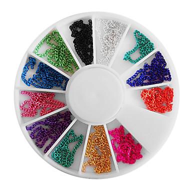 Mezcla colores de u as rueda de cadena de gotas - Rueda de colores ...