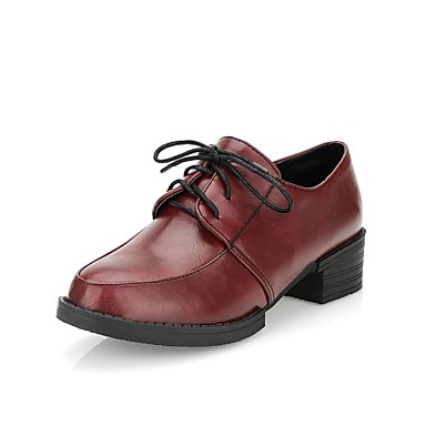 Womens-Size-10-B-O-C-Leather-Wingtip-Lace-Up