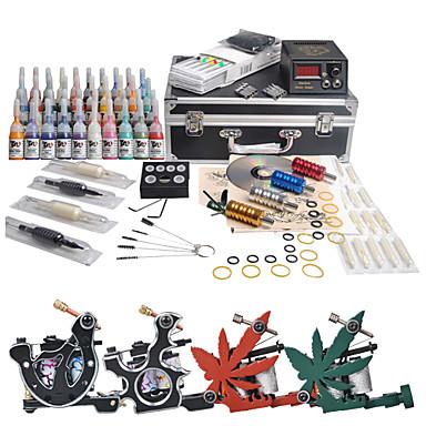 Complete tattoo kits 4 machines 40 tattoo inks 1134583 for Full tattoo kit