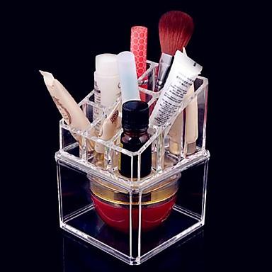 Rangement pour maquillage bo te de maquillage rangement - Boite de rangement maquillage acrylique ...