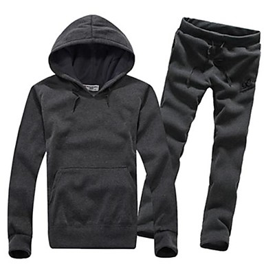 Men's Casual Sports Hoodie Suit - USD $ 28.99
