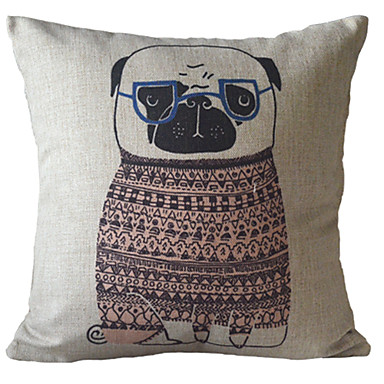 Super Cute And Hillarious Bulldog In Lovely Sweater Decorative Pillow Cover 1394450 2016 ? $22.49