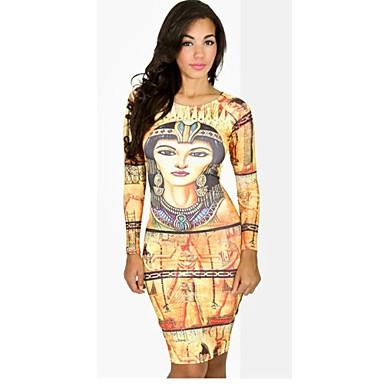 Donna Antico Egitto Faraone Vestito aderente del 1329489 ...