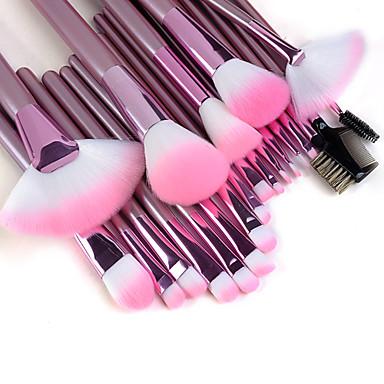 22pcs makeup brushes set professional pink handle powder