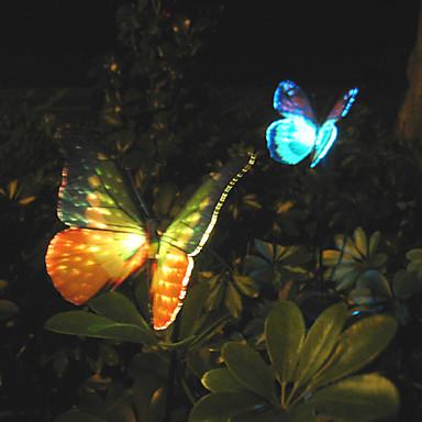 1 paquet de 2pcs a men solaire jardin de lumi re lumi re pelouse aliment fleur de lumi re - Lumiere solaire jardin ...