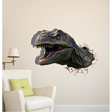 D The Dinosaur Wall Stickers Wall Decals - 3d dinosaur wall decals