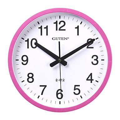12 h modern breve reloj de pared rosa 2015 - Reloj de pared moderno ...