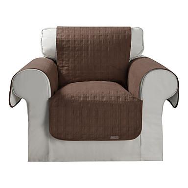 tanche microsuede solide brun mini cube courtepointe couverture de chaise 01811476. Black Bedroom Furniture Sets. Home Design Ideas
