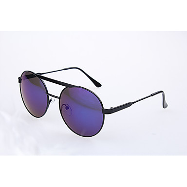 Geescen stjerne style light reflect runde form farvefilm solbriller