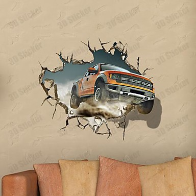 3d the wall stickers car stickers murali usd for Stickers murali 3d