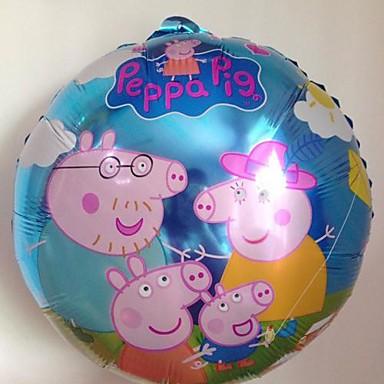 10pcs lot 45 45cm peppa pig l mina globo para la fiesta - Globos de cumpleanos ...