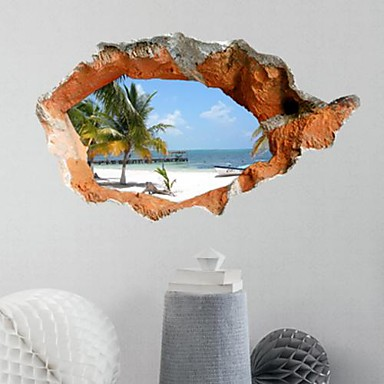 3d adesivi murali adesivi 3d da parete adesivi decorativi for Foto murali 3d