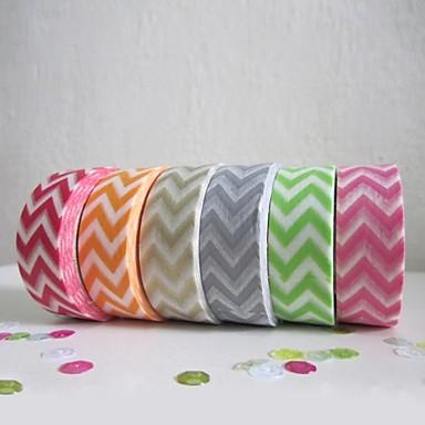 Decoraci n de la boda colorido dise o ondulado cinta de - Decoracion con cintas de papel ...