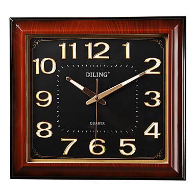 16 style simple mot lumineuse horloge murale 01669031 for Horloge lumineuse