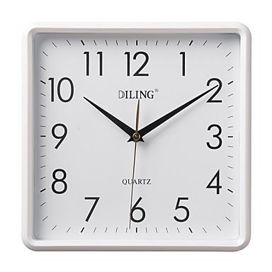 10 4 n meros rabes modernos cuadrados del reloj de pared - Reloj de pared moderno ...