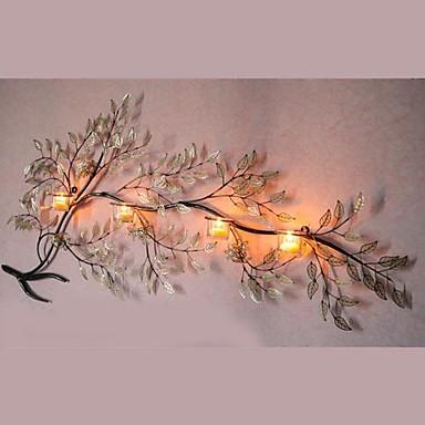 metal wall art wall decor the branch shape candlestick wall decor give away glasses 1690111 2017 9604 - Metal Wall Decor