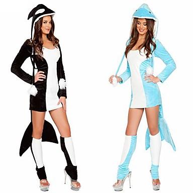 dauphin costume animal adulte de costume de costume d 39 halloween femme usd. Black Bedroom Furniture Sets. Home Design Ideas