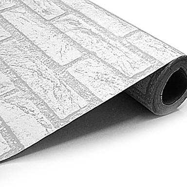 frankie ™ behang wandbekleding, klassiek blok pvc behang 122-008 ...