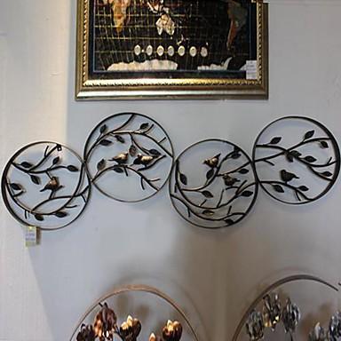 Paroi m tallique art mural d cor la beaut de la nature d coration murale de - Decoration metallique murale ...