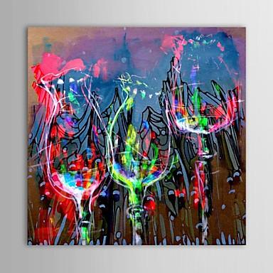 peint la main abstrait un panneau toile peinture l 39 huile hang peint for d coration d. Black Bedroom Furniture Sets. Home Design Ideas