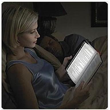 Led lampe panel kile for å reise lese boken i bil / seng paperback ...