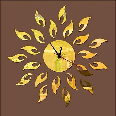 3d bricolage style moderne nouvelle acrylique soleil de for Miroir mural soleil