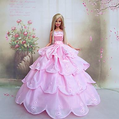 ... poupée romantique robe de mariée de princesse rose de 2016 à $9.99