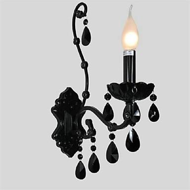 svart krystall vegglampe - USD $ 76.99