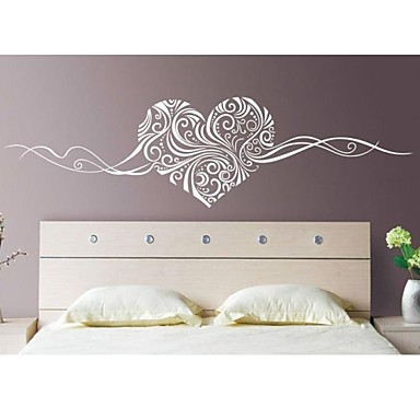 Romance still life fashion florals abstract wall stickers - Sticker mural leroy merlin ...