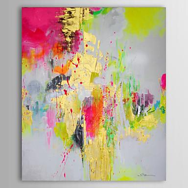 Peint la main abstrait verticale classique un panneau for Peinture abstraite moderne